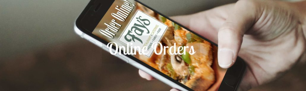 Fay's Online Orders